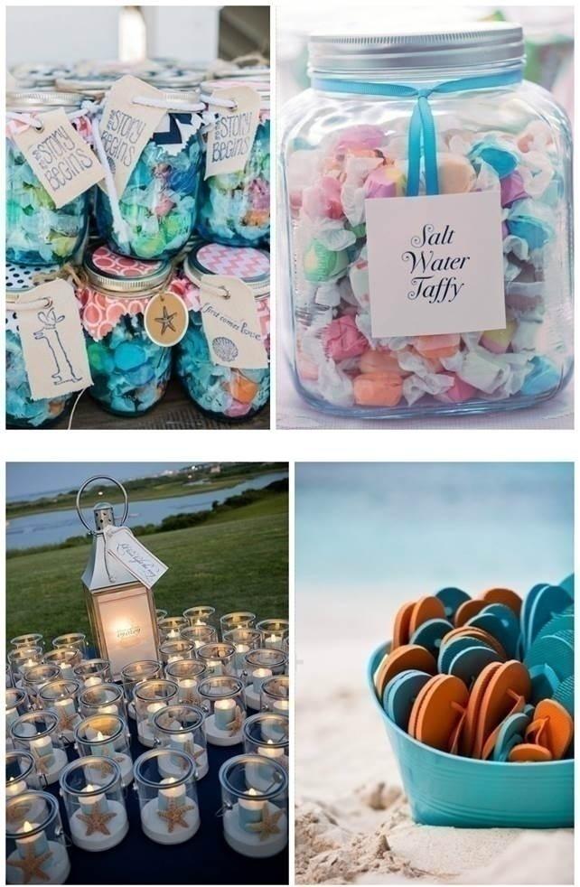 BEACH WEDDING FAVOURS