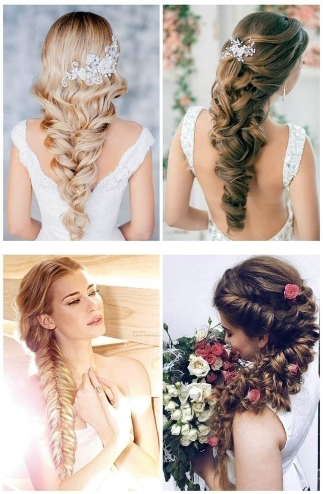 Top 5 indian bridal hairstyles for thin hair blog wedding hairstyle loose braid with adornment junglespirit Choice Image