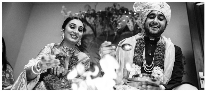 Tusshar & Megha Delhi : 'When two sceptical hearts met, they entwined in love together forever.'
