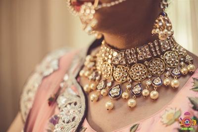 Royal bridal jewelery