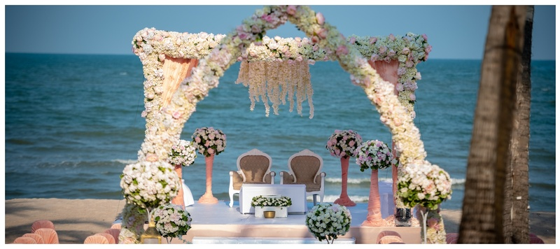 Anshul & Paridhi Hua Hin : This couple had the most magical beach wedding at The Palayana, Thailand and we can't stop drooling!
