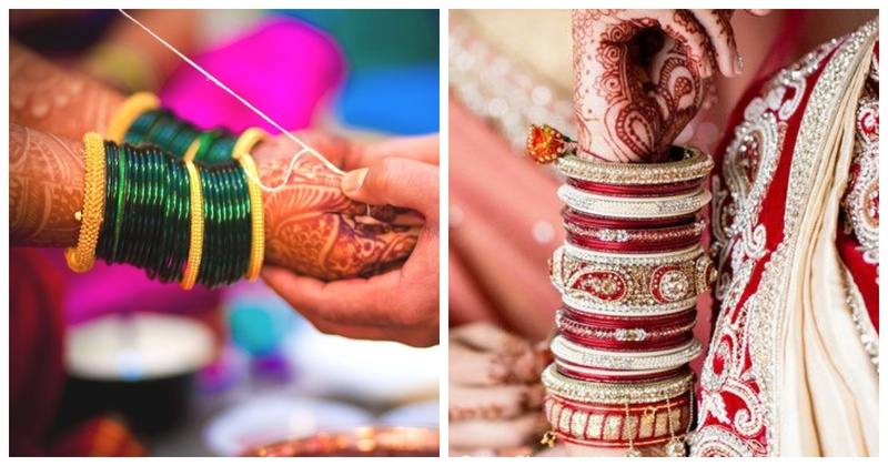 7 Types of Bangles Worn by Indian Brides
