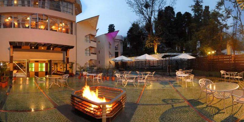 Hotel Arif Castles, Nainital - Outdoor Wedding Venues in Nainital