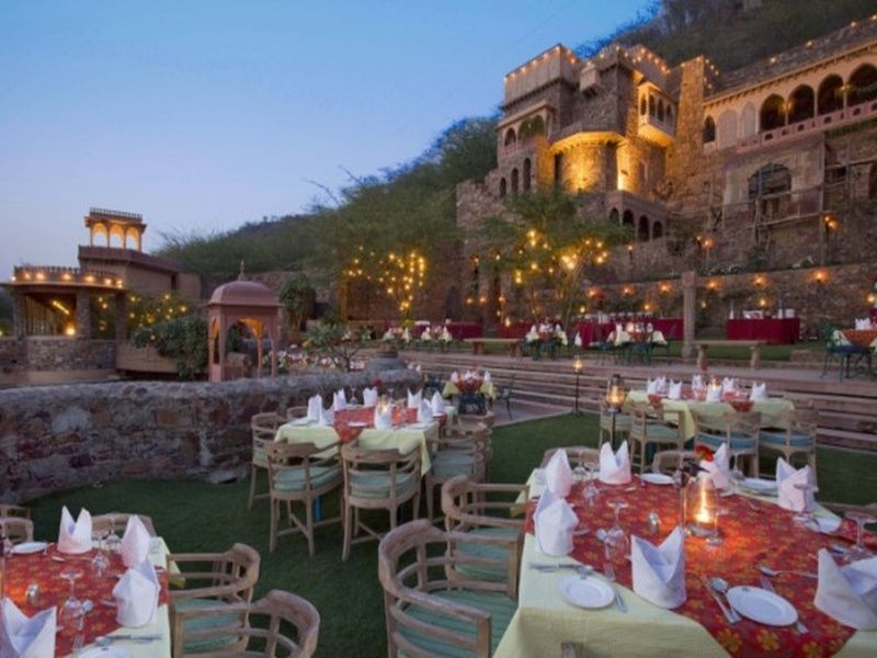 Neemrana Fort Palace, Neemrana- Wedding Venues in Rajasthan