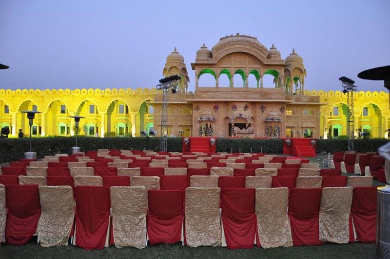 Fort Rajwada, Jaisalmer - Luxury Wedding Venues in Jaisalmer