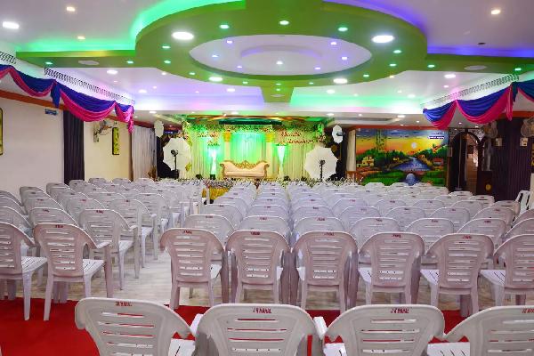 JR Mahal AC, Tiruppalai - Marriage Hall in Madurai