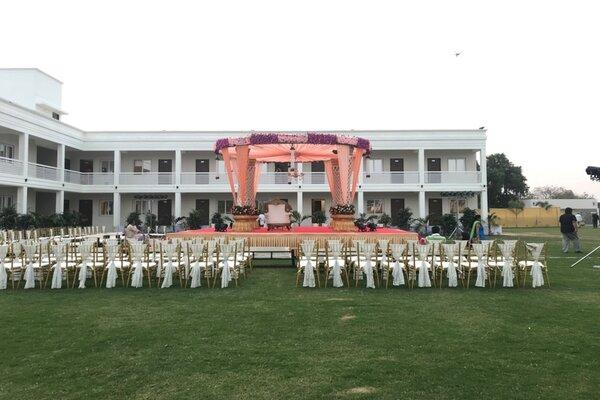 Grand Tulip Banquet And Lawn, Sama Savli Road -Wedding lawns in Baroda