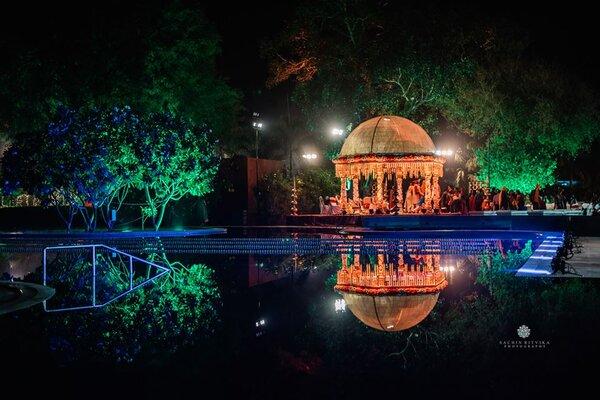 Lukshmi Villas Palace, Ajwa Road -Wedding lawns in Baroda