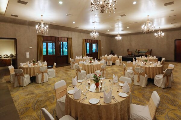 Jehan Numa Palace Hotel, Shymala Hills -Large Party Halls in Bhopal