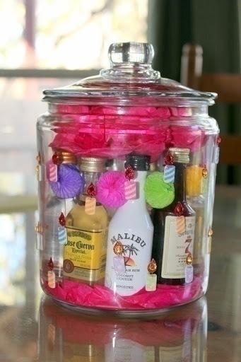 Mini Liquor Basket