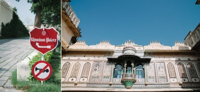 Fatehgarh Palace, Udaipur divided in different section named after different Hindu mythology Gods