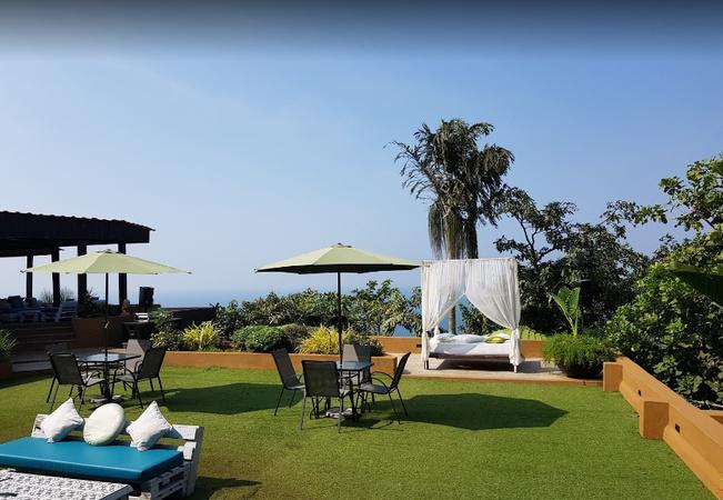 Shalai The Cliff Resort Anjuna Goa - Wedding Lawn