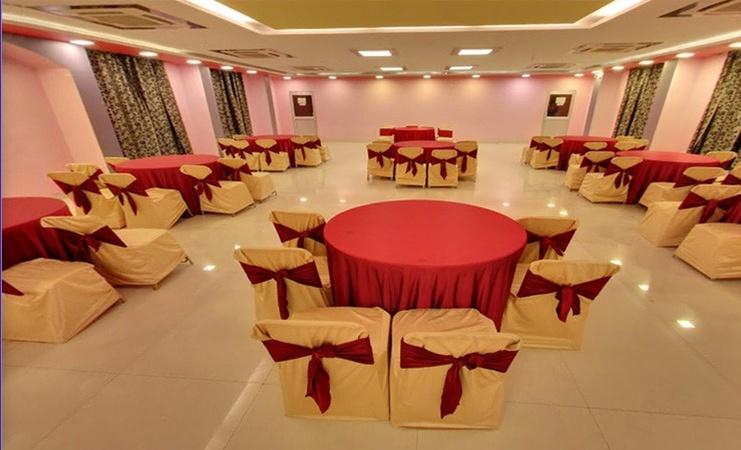 Hotel Ashoka Residency Rajendra Nagar Patna - Banquet Hall