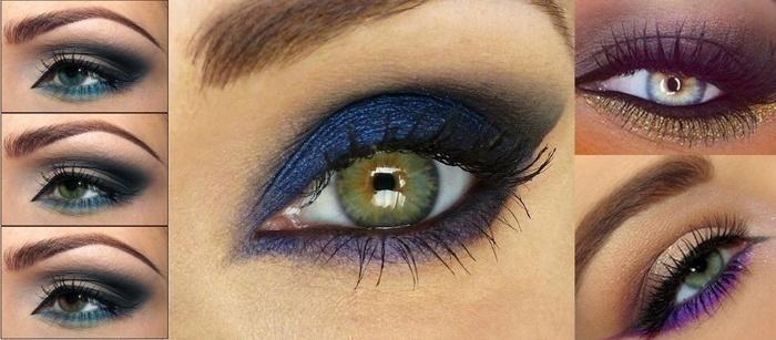 Colourful Under Eye