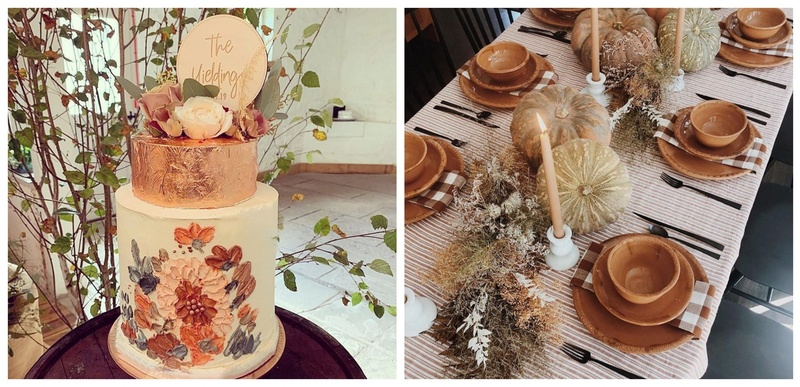 7 Autumn Colours and Decorations to Look at for the Perfect Wedding Theme
