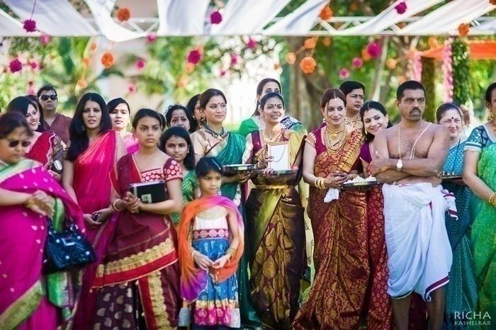 Maroon Kanjeevaram with Gold