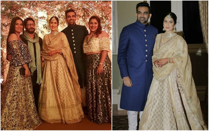 Celebrations Continue For Zaheer Khan And Sagarika Ghatge - A Grand  Reception Hosted At Taj Mumbai! 7cb1df2a6a4e