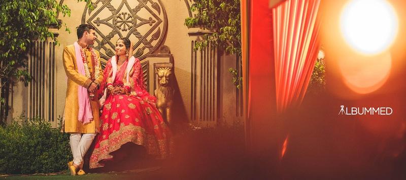 Akshay & Monik Delhi : Blissful Hindu Wedding With Gorgeous Wedding Outfits Held In Gurgaon