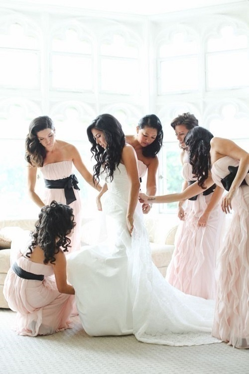 The One Where They Help With Your Dress