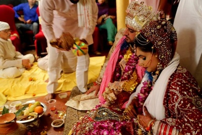 Traditional Indian wedding rituals