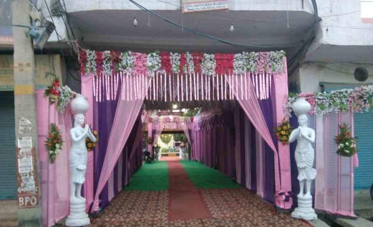 Shri Maha Gauri Vatika Rohini Delhi - Wedding Lawn
