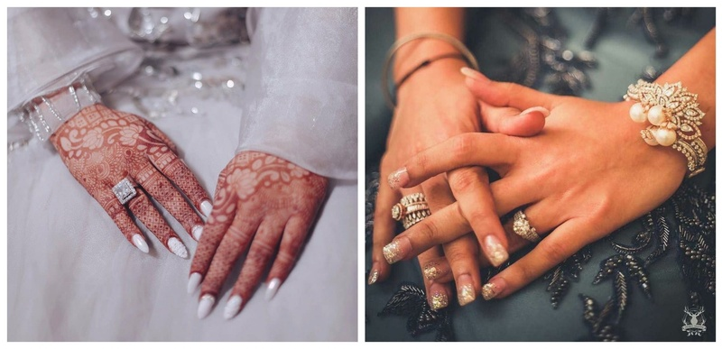 6 Versatile Nail Colours that Suit Every Lehenga