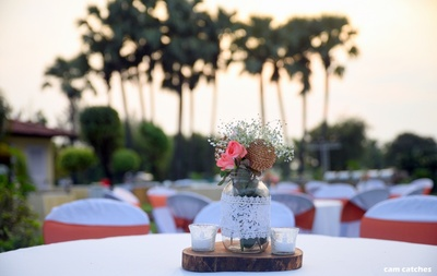 table decor ideas for the pool party