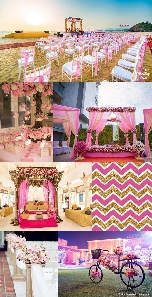 Indian Wedding Color Themes Summerweddingseries Bridal Wear Wedding Blog