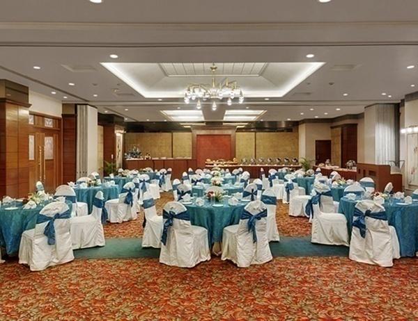 Indoor wedding banquet hall