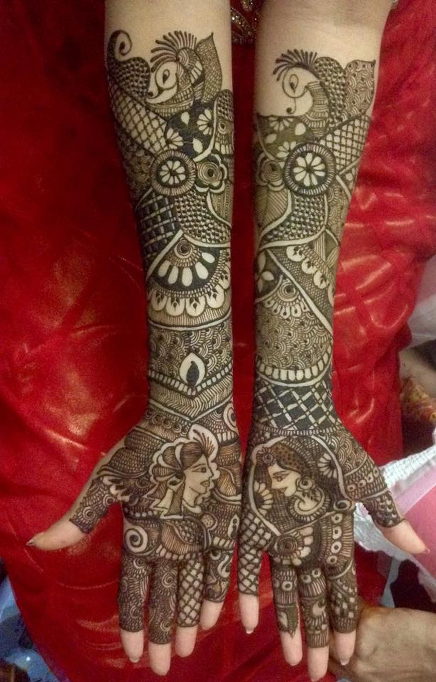 Mehndi Designs Jobs In Hyderabad : Noorjahan mehendi designer bridal mehndi artist in