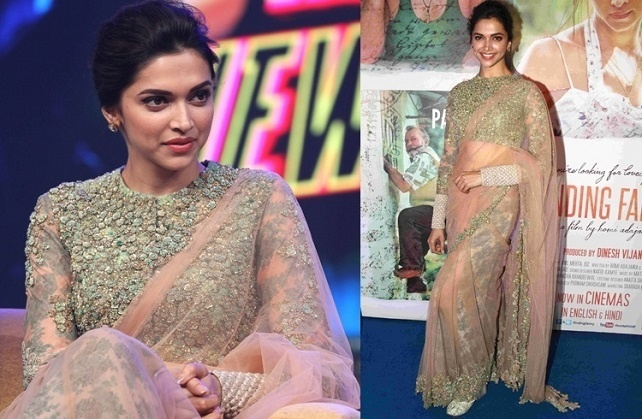 14 Ah-Mazing Deepika Padukone Blouse Designs To Steal For ...