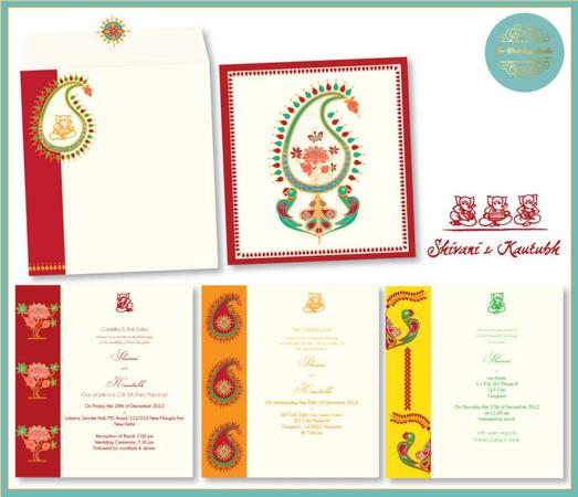 The Wedding Studio by Oh So Boho | Delhi | Invitation Cards