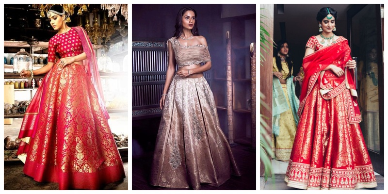 a8efb99f51 30 Banarasi Lehenga Images which will make you opt for one this wedding  season!