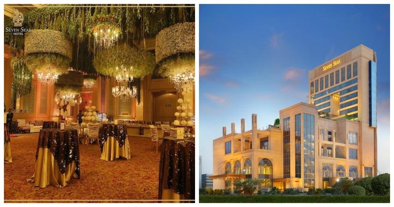Seven Seas Hotel– The Best Luxury Hotel for Delhi Brides
