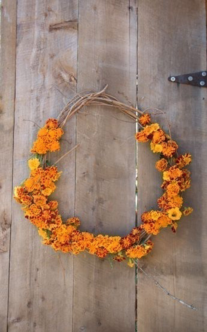 For The Diva and Her Bridal Party – Marigold Crown