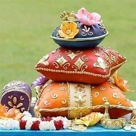Cutesy Indian Wedding Cake Designs to Add a 'Desi' Touch ...