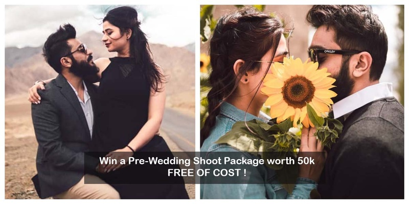 Win a Pre-Wedding Shoot Package worth 50K this Dussehra, on booking a Venue with us! #WzDussehraSpecial