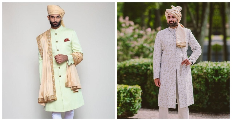 7 Simple Yet Elegant Sherwanis to Wear for Your Wedding