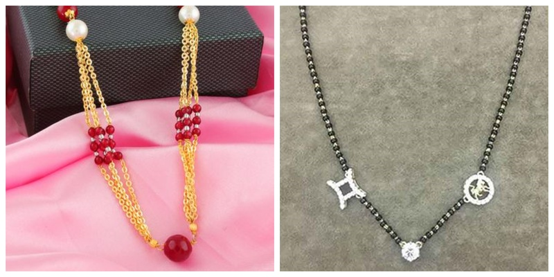 5 Unique Mangalsutras to Replace the Traditional Black Gold Style