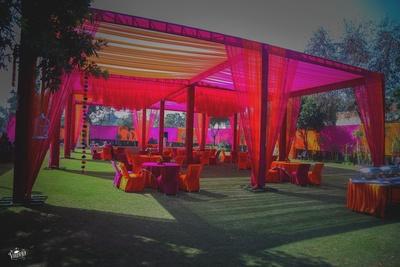 Colourful Mehndi decor