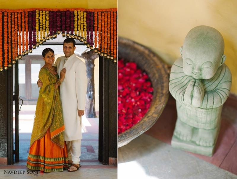 Nayantara and Dhruv's Tasteful Backyard Wedding held in Pune