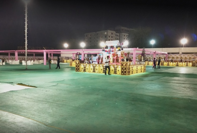 Rajpat Party Plot Nikol Ahmedabad - Wedding Lawn