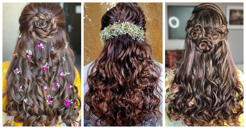 10 DIY hairstyles for the casual and chic 2019 brides!