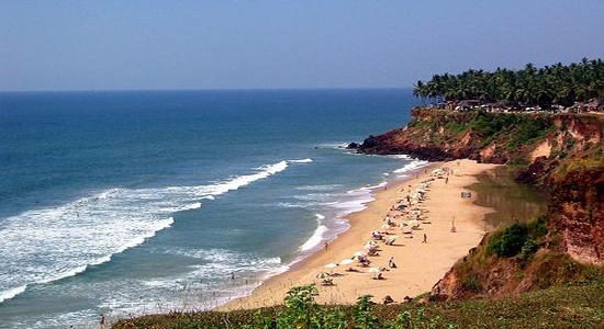4. Varkala, Kerala