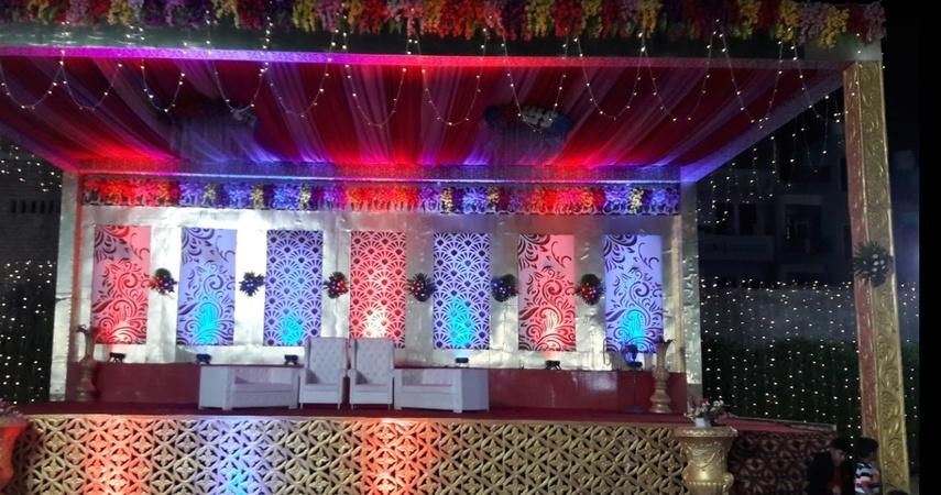 RP Garden Uttam nagar Delhi - Wedding Lawn