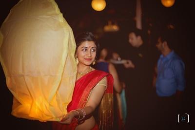 Wedding lanterns make the whole atmosphere magical !