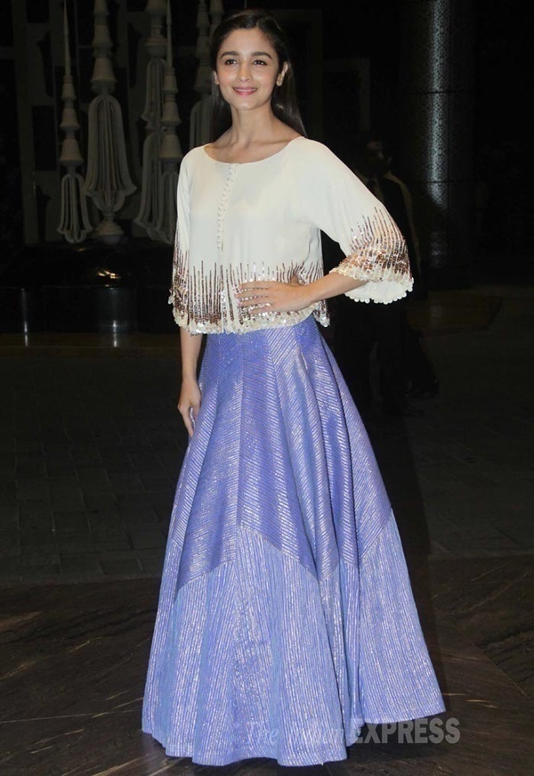 Bridal Wear Inspirations from the Cute and Bubbly Alia Bhatt - Blog