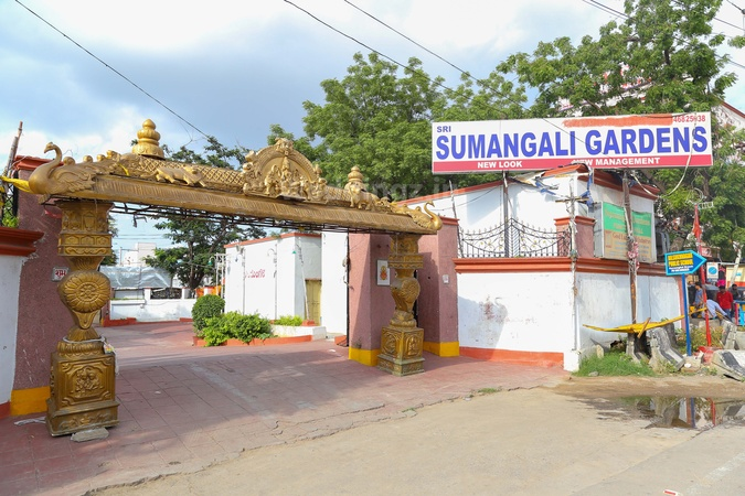 Sumangali Gardens Function Hall Karmanghat Hyderabad - Wedding Lawn