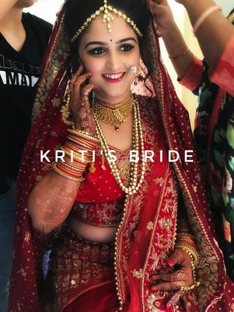 Kriti's Bride | Mumbai | Makeup Artists