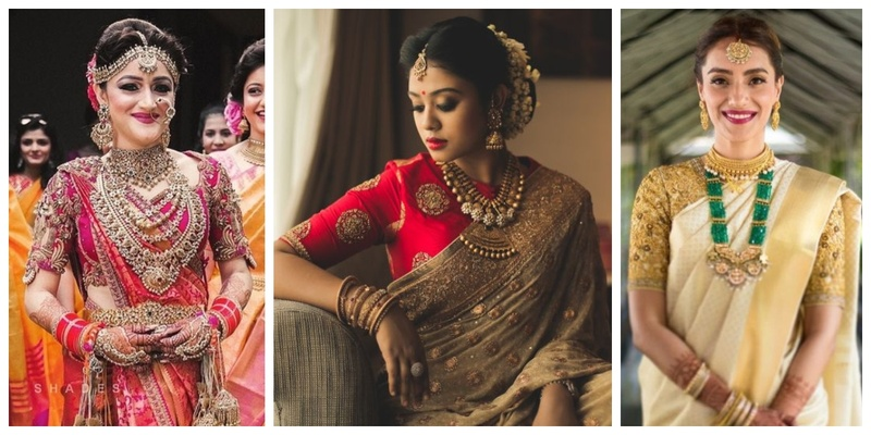 20 Real Brides who wore Sarees for their Wedding & ditched the mainstream lehengas!